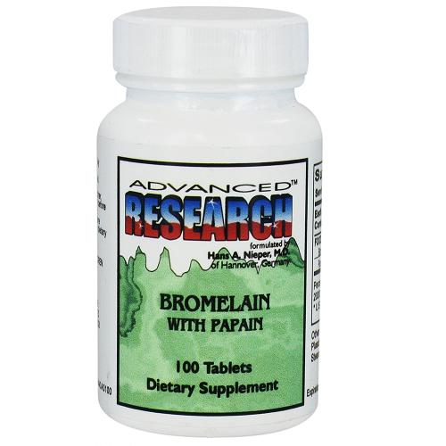 bromelain research papers